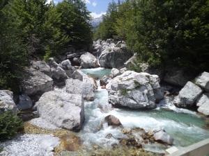 Valbona River.