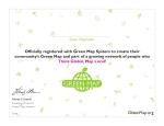 Green Mapper Certificate